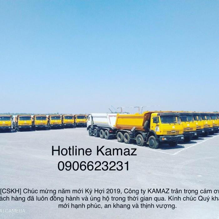 Ben Kamaz 6540 vuông | Ben kamaz 4 giò | Bán xe ben Kamaz 4 chân | Kamaz 6540 (8x4) nhập khẩu