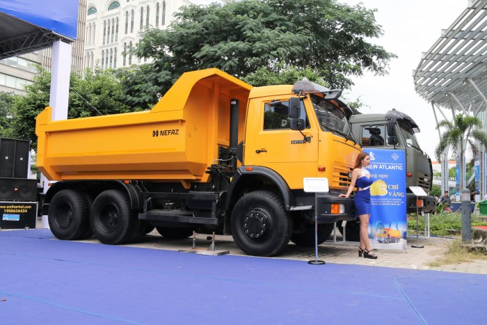 Bán xe ben Kamaz 15 tấn GA CƠ Euro3 | Giá bán ben Kamaz 15 tấn thùng vuông 12m3 mới nhất