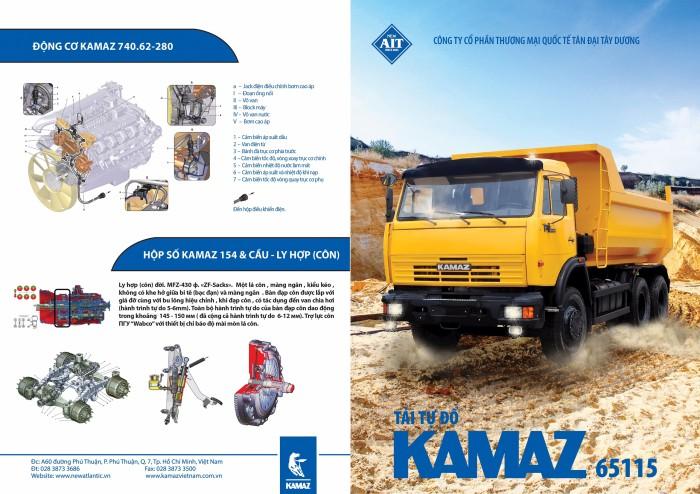 Ben Kamaz Euro3 | #Kamaz65115 | # Kamaz ben | #Ben Kamaz 15 tấn thùng vuông | Ben Kamaz 12m3