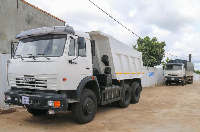 Ben Kamaz 15 tấn | Kamaz 15 tấn thùng vát | Kamaz 65115 Euro2 | Kamaz ben nhập khẩu |#kamaz65115