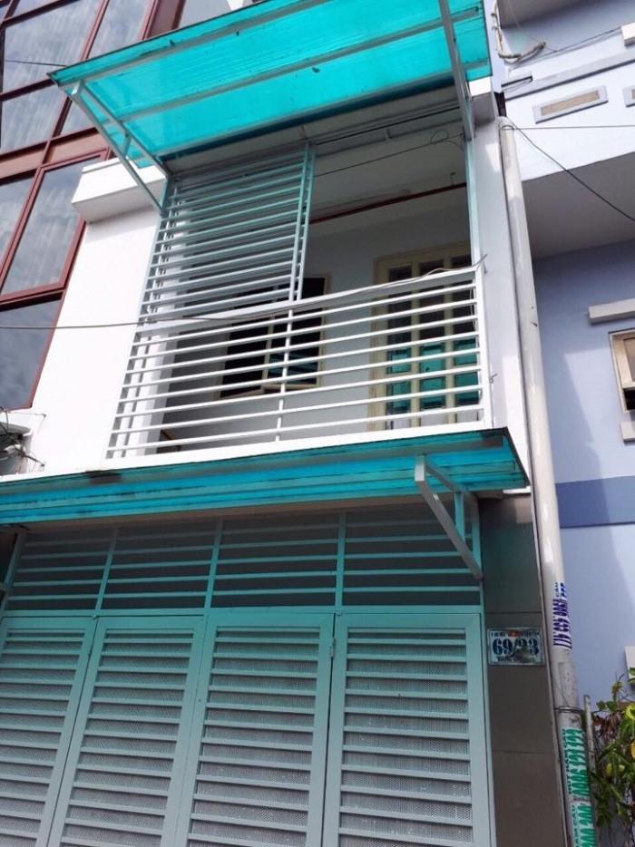 Nhà đường Lê Trọng Tấn 3x10m 1 lầu 2 pn đường 5m