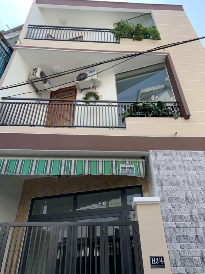 Bán nhà 3 tầng 3 mê kiệt ô tô Nguễn Hữu Thọ.
