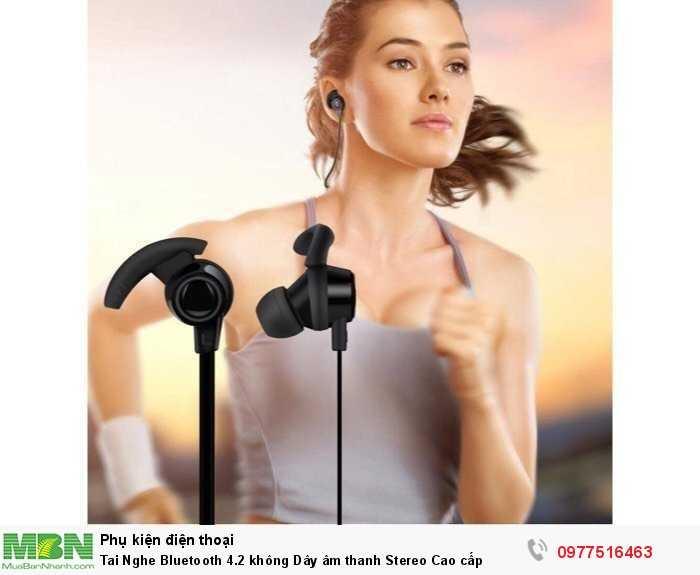 Tai Nghe Bluetooth 4.2 không Dây âm thanh Stereo Cao cấp
