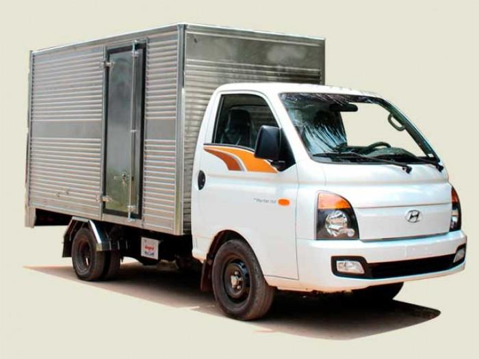 Xe tải Hyundai 1T49 thùng kín