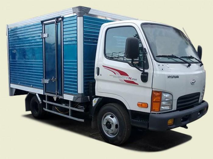 Xe tải Hyundai 2T2 thùng mui kín - New Mighty N250