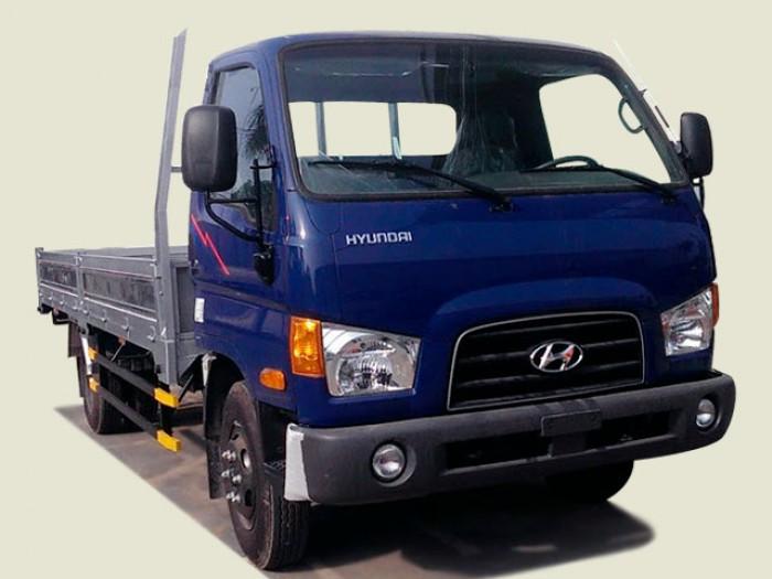 Xe tải Hyundai 4T2 thùng lửng - New Mighty 75S
