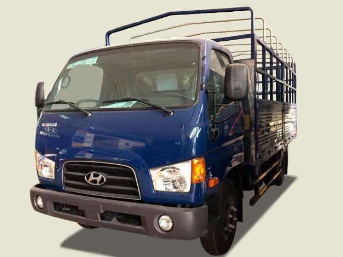 Xe tải Hyundai 4 tấn thùng mui bạt - New Mighty 75S