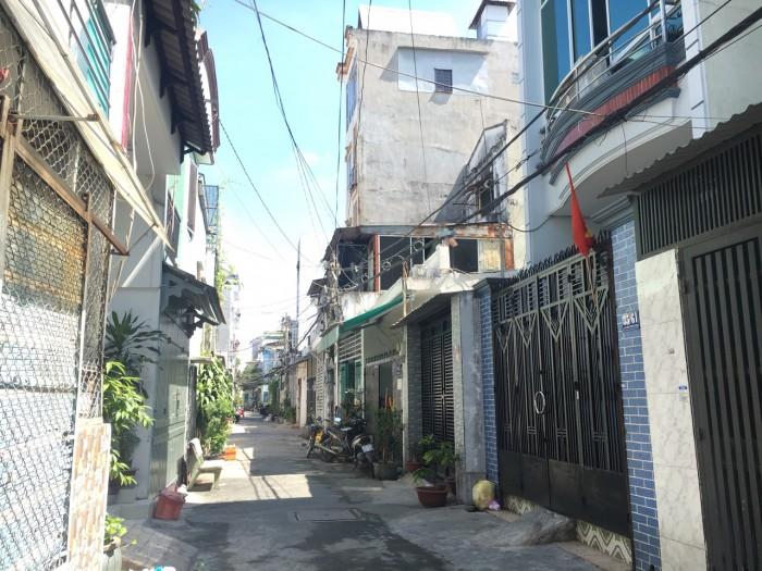 Cc bán nhà hẻm Đỗ Thừa Luông, 4m x 16m