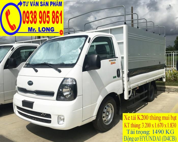 Xe tải Frontier KIA K200 tải trọng 1 tấn 4 hỗ trợ trả góp tại Đà Nẵng 3