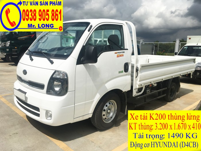 Xe tải Frontier KIA K200 tải trọng 1 tấn 4 hỗ trợ trả góp tại Đà Nẵng 2