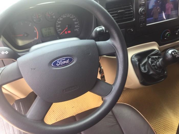 Bán Ford Transit sx 2018 màu ghi vàng full option 6