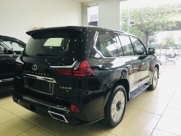 Bán Lexus LX570 Super Sport màu đen,sản xuất 2019 ,xe giao ngay,giá tốt