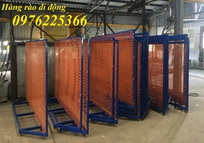 Sản xuất hàng rào ngăn cách ,hàng rào di động, rào chắn di động12