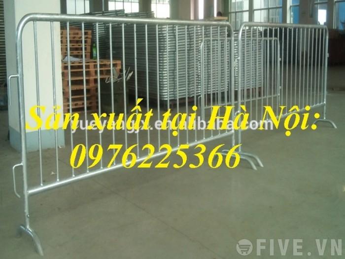 Sản xuất hàng rào ngăn cách ,hàng rào di động, rào chắn di động11