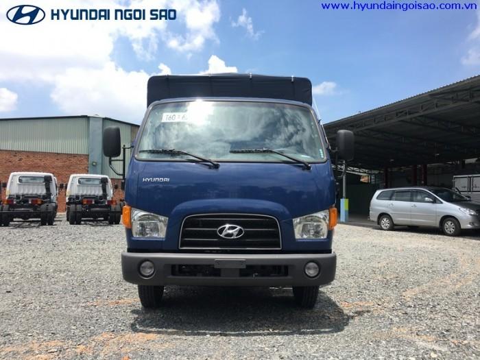 Hyundai new mighty 75s thùng dài 4m5 tải trọng 3T5