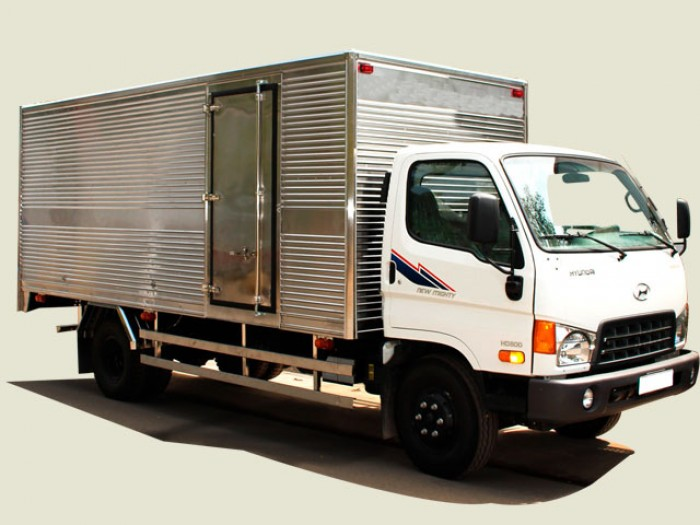 Xe tải Hyundai 8 tấn thùng kín - HD800, thùng 5m, động cơ 4.0