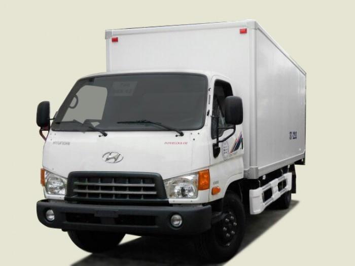 Xe tải Hyundai 7T8 thùng bảo ôn - HD800, thùng 5m, thủ tục nhanh nhẹn