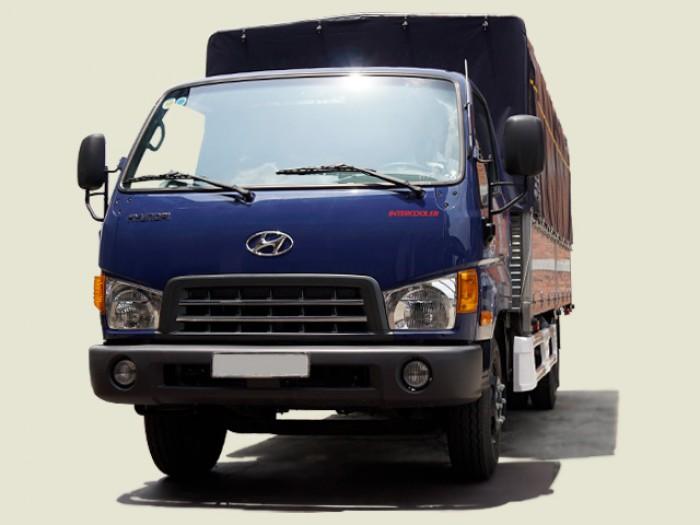 Xe Tải Hyundai 8 Tấn HD800 Thùng Mui Bạt