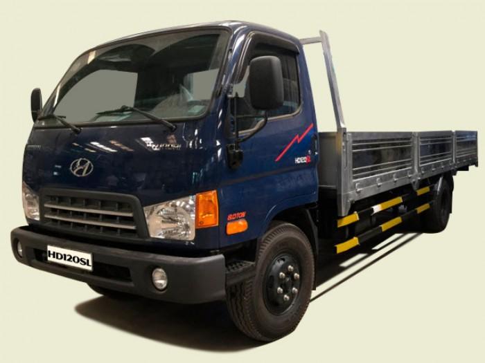 Xe tải Hyundai 8T3 thùng lửng - HD120SL, thùng 6m4 0