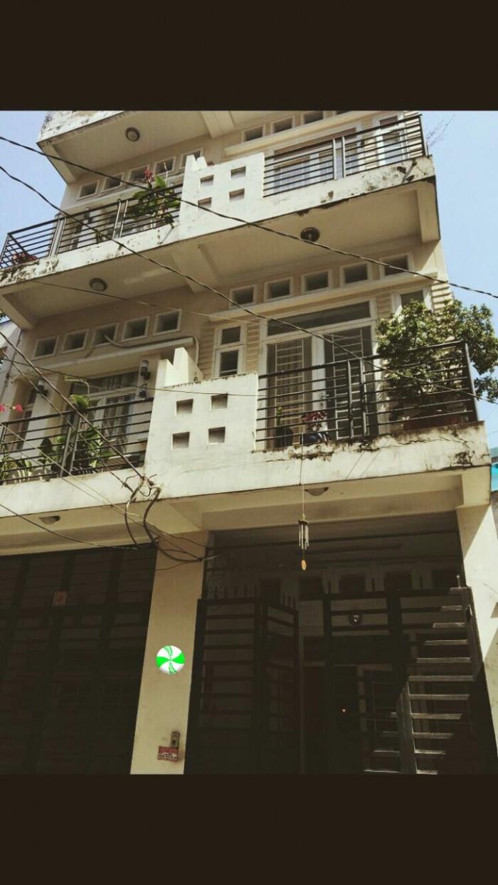 Bán Nhà Hxh 12m KDC đường nguyễn văn đậu P11 Bình Thạnh