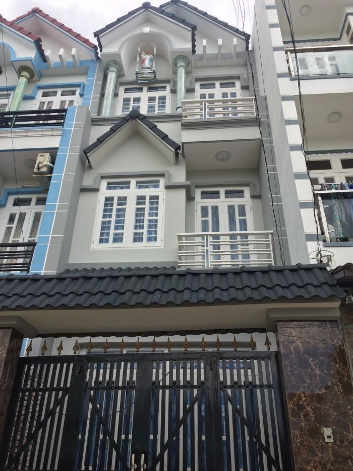 Nhà Bán 2 Lầu Mới Khu Dân Cư Đông Đúc Cuối Đường Lê Đức Thọ