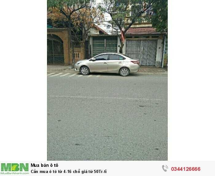 Cần mua ô tô  từ 4-16 chỗ giá từ 50Tr-tỉ 2