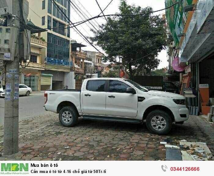 Cần mua ô tô  từ 4-16 chỗ giá từ 50Tr-tỉ 3