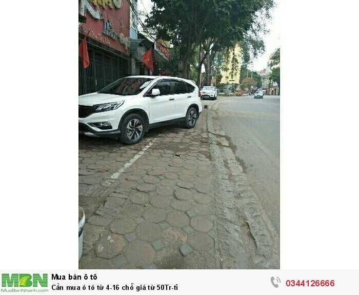 Cần mua ô tô  từ 4-16 chỗ giá từ 50Tr-tỉ 4
