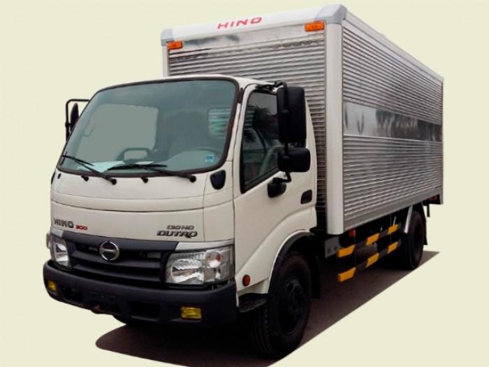Xe tải Hino Dutro 3T5 thùng kín - XZU342L, thùng 5m