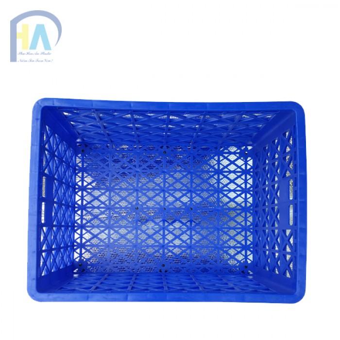Thanh lí rổ nhựa 8 bánh xe Phú Hòa An2