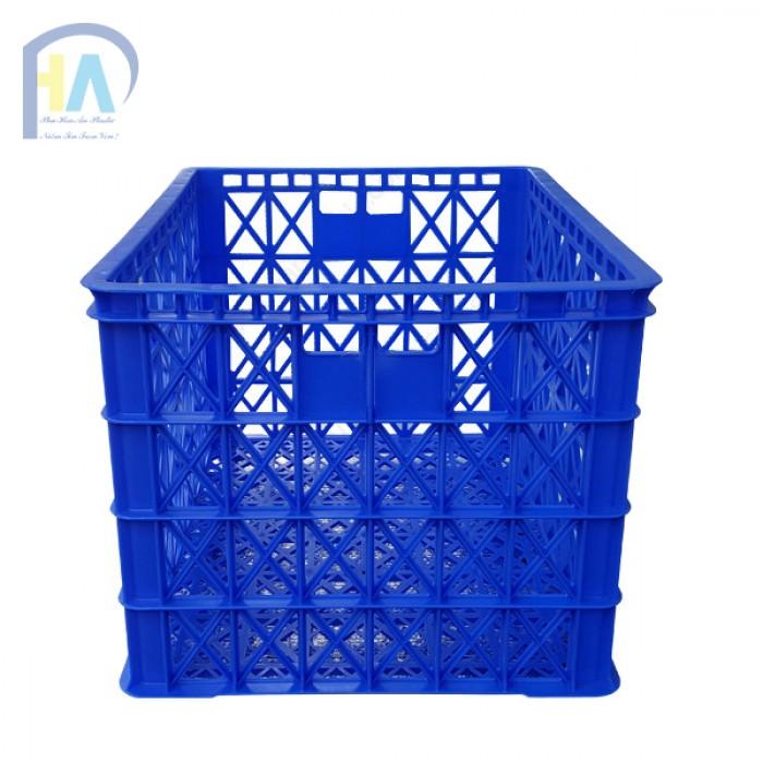 Thanh lí rổ nhựa 8 bánh xe Phú Hòa An1