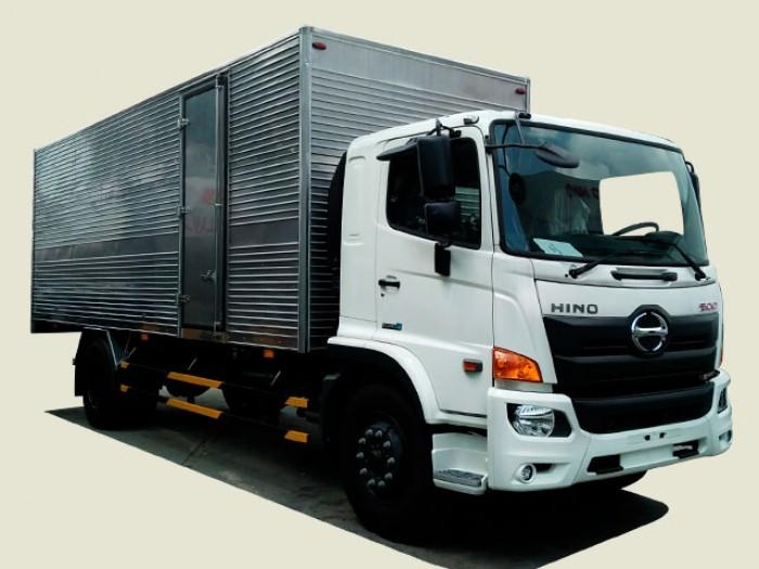 Xe tải Hino 8T1 thùng kín - FG8JPSL, thùng 8m6