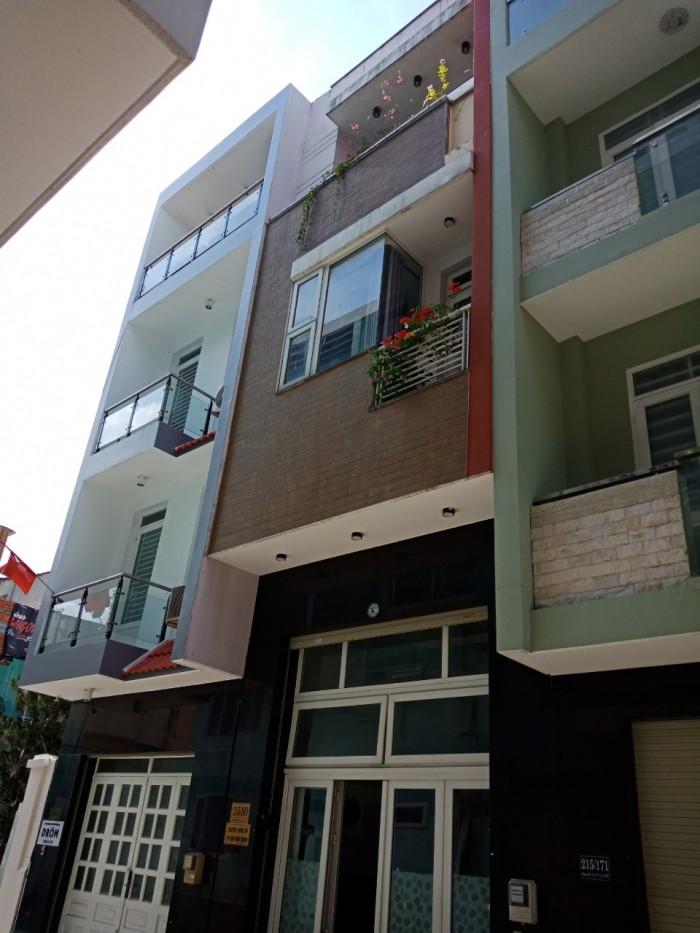 Bán căn nhà Nằm Ngay MT Đường Lê Quang Định, P11, Bình Thạnh.DT 4x24m