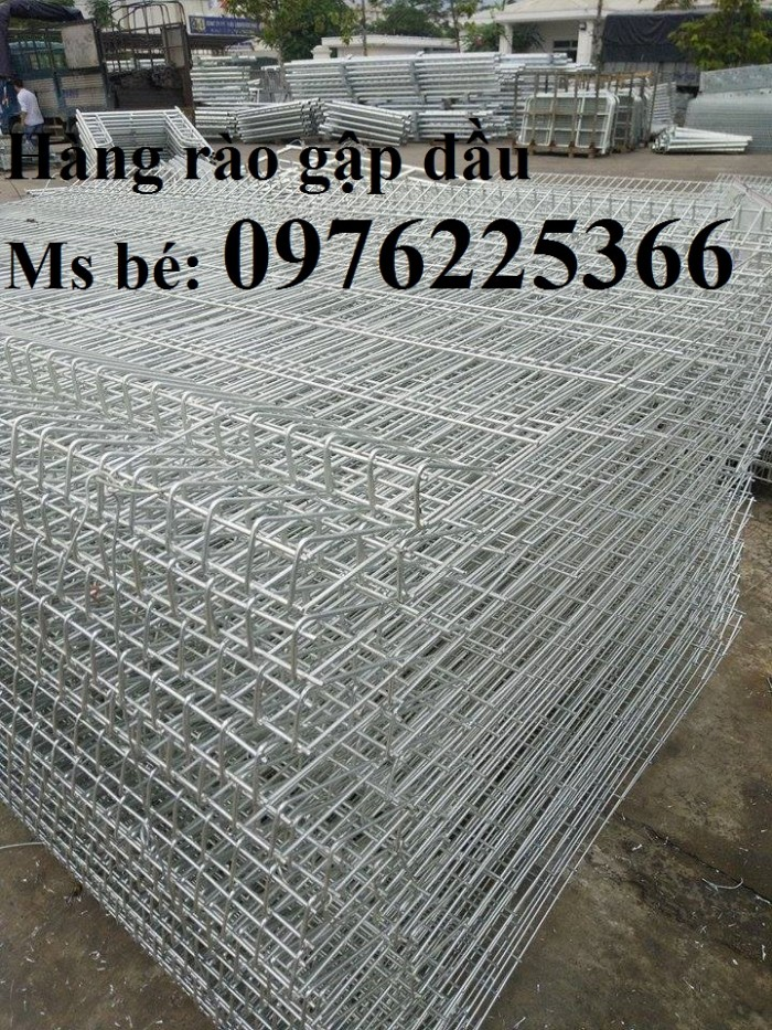 Hàng rào lưới thép mạ kẽm3