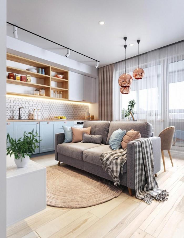 Căn hộ cao cấp ngay trung tâm Lái Thiêu, căn hộ 1PN-1WC, có ban công chỉ từ 777tr/căn.
