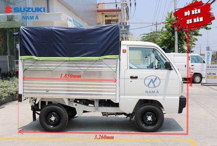 Bán suzuki truck thùng bạt