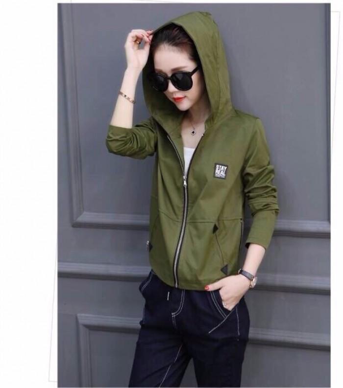 [2] Áo khoác dù có nón