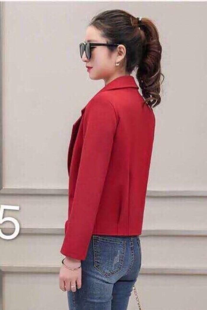 [3] Áo khoác cổ vest 1 nút