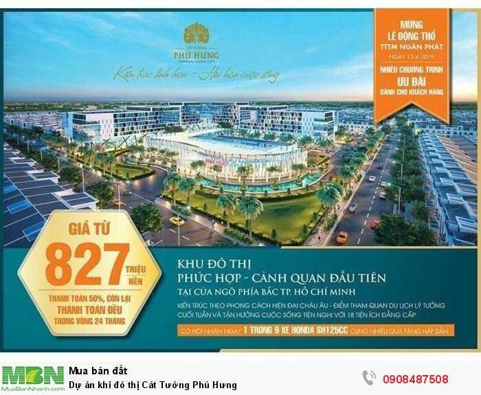 Dự án khi đô thị Cát Tường Phú Hưng