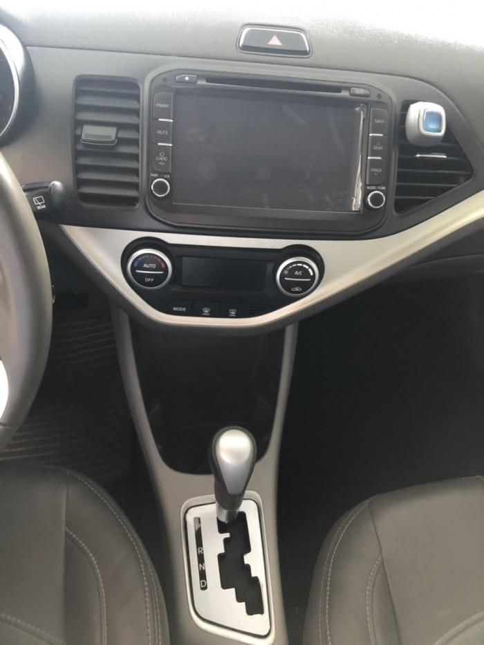 Bán Kia Morning SI 1.25AT màu vàng cát số tự động sản xuất 2016 đk 2017 mẫu mới