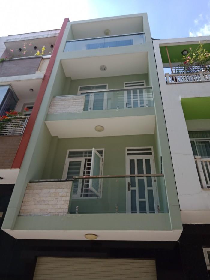 Bán nhà MT 3lầu tại Đường Nơ Trang Long, P.12, Bình Thạnh, DT 4x19m giá 12 Tỷ.