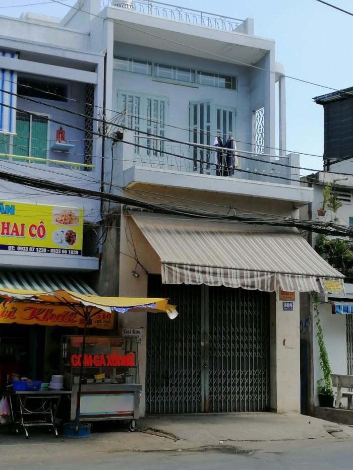 Nhà mới đẹp Mặt Tiền 508 Gia Phú Q6 (4.3x11) 2 lầu