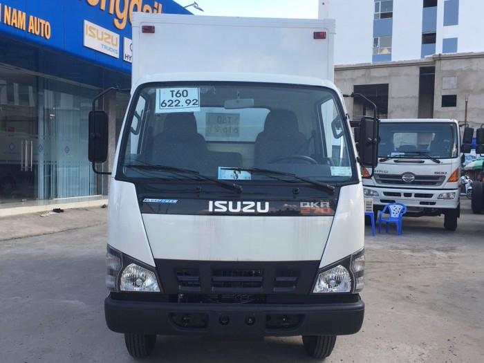 Xe tải thùng kín composite ISUZU tải 1.9 tấn - 2.5 tấn - 2.8 tấn - TRẢ GÓP