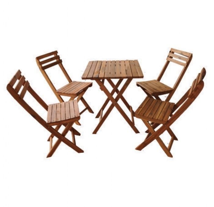 Bàn ghế gổ cafe giá rẻ tại xưởng sản xuất HGH 11810
