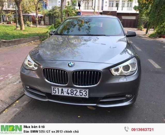 Bán BMW 535i GT sx 2013 chính chủ