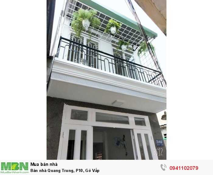 Bán nhà Quang Trung, P10, Gò Vấp