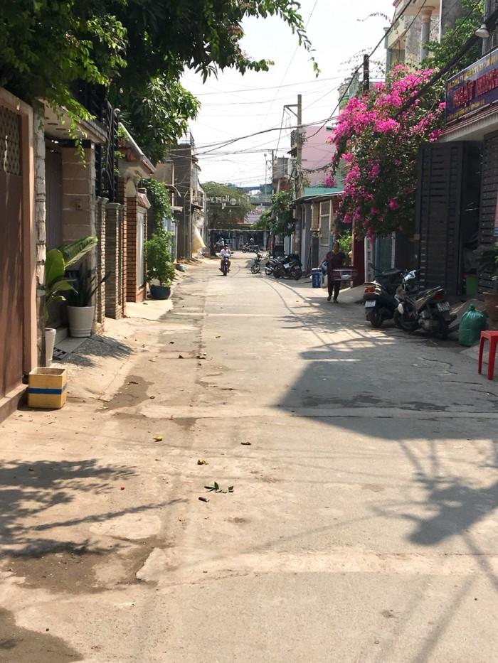 Bán nhà gần Lê Văn Khương Q12, Dt:4.5x12m, đúc 1 lầu, đường thông 7m, shr, giá 3.75 tỷ