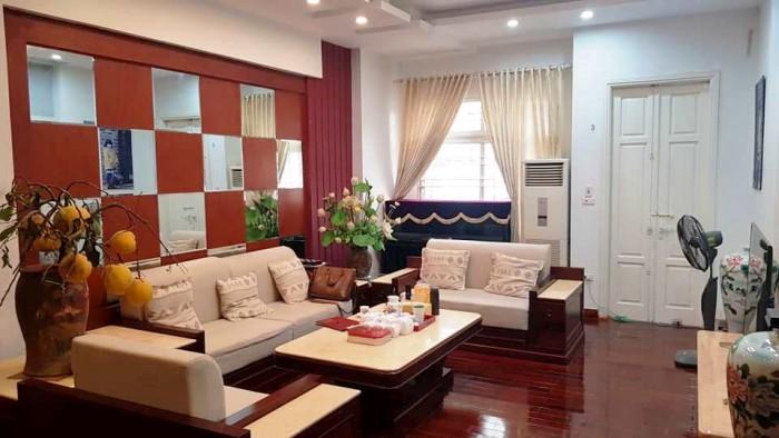 Bán nhà Hoàng Quốc Việt, 2 mặt thoáng, 49m2, 4 tầng, ngõ rộng, ô tô đỗ cách nhà 10m