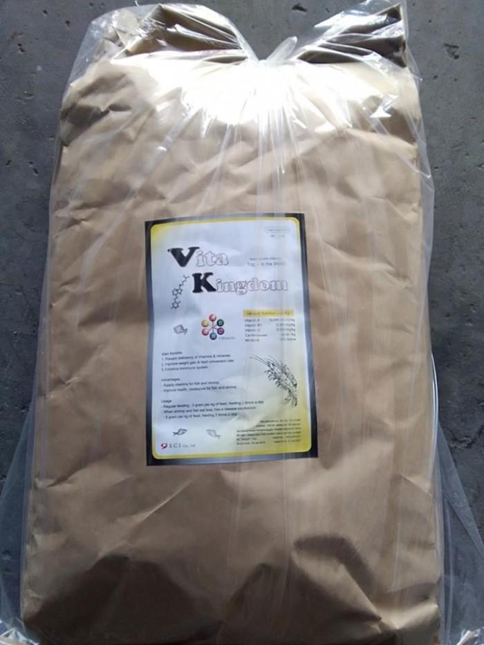 Cung cấp Vitakingdom vitamin hỗn hợp cho tôm cá, uy tín giá tốt2