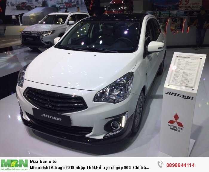 Mitsubishi Attrage sản xuất năm 2018 Số tự động Động cơ Xăng